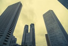 Skyscrapers background Royalty Free Stock Images