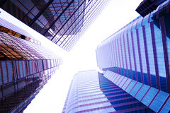 Skyscrapers background for texture Stock Photos
