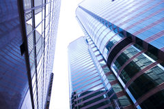 Skyscrapers background for texture Royalty Free Stock Images