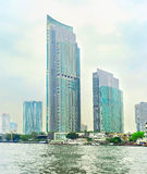 Skyscrapers in Bangkok Royalty Free Stock Photos