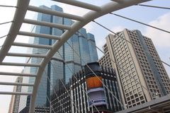 Skyscrapers at Bangkok Thailand Stock Photography
