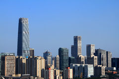 Skyscrapers of Beijing. In china Stock Photo