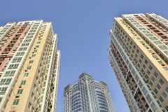 Skyscrapers at Beijing, China Stock Photography