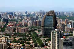 Skyscrapers of Beijing. In china Stock Photos