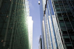 Skyscrapers from below Stock Image