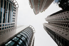 Skyscrapers of the big city. Kuala-Lumpur. Stock Photography