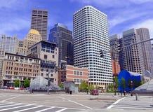 Skyscrapers in Boston, Massachusetts Stock Photography