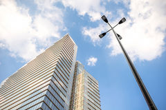 Skyscrapers in Brussels city Stock Photography