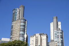 Skyscrapers in Buenos Aires Royalty Free Stock Photos