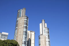 Skyscrapers in Buenos Aires Stock Image