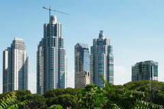 Skyscrapers in Buenos Aires Stock Images