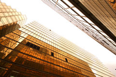Skyscrapers building background Royalty Free Stock Photos