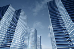 Skyscrapers business Stock Images