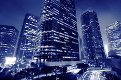 Skyscrapers business center Royalty Free Stock Photo