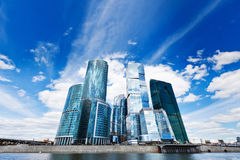 Skyscrapers in business centre Royalty Free Stock Photography