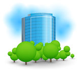 Skyscrapers business centre Royalty Free Stock Images