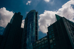 Skyscrapers in Center City, Philadelphia, Pennsylvania. Stock Photos