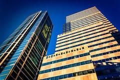 Skyscrapers in Center City, Philadelphia, Pennsylvania. Stock Image