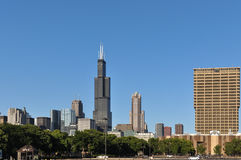 Skyscrapers of Chicago, Illinois Royalty Free Stock Photo