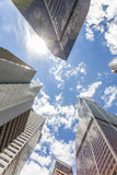 Skyscrapers in Chicago, Michigan, USA Royalty Free Stock Image