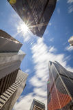 Skyscrapers in Chicago, Michigan, USA Royalty Free Stock Photography