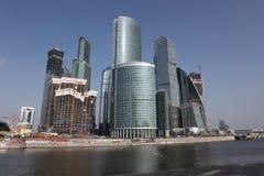 Skyscrapers City international busine Stock Photos