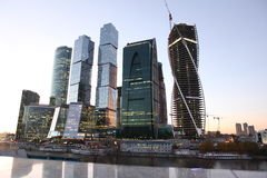 Skyscrapers City international business center, Moscow Stock Photography
