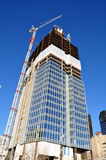 Skyscrapers construction Royalty Free Stock Photo
