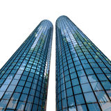 Skyscrapers - 3d rendered illustration Royalty Free Stock Photos