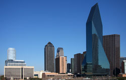 Skyscrapers of Dallas Stock Photo