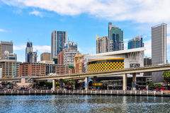 Skyscrapers in Darling Harbour in Sydney, Australia Stock Image