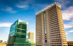 Skyscrapers in downtown Baltimore, Maryland. Skyscrapers in downtown Baltimore, Maryland stock images