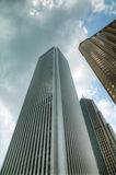 Skyscrapers in the downtown Chicago, Illinois Royalty Free Stock Image