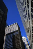 Skyscrapers In Downtown Chicago. USA Royalty Free Stock Images