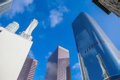Skyscrapers in downtown LA, Los Angeles Royalty Free Stock Image