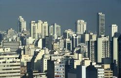 Skyscrapers in downtown São Paulo, Brazil. Royalty Free Stock Image