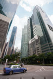 Skyscrapers in the Downtown of Singapore Royalty Free Stock Photos