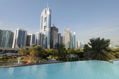 Skyscrapers in Dubai Stock Photos