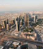 Skyscrapers in Dubai Stock Photography