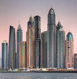 Skyscrapers in Dubai Stock Photos