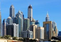 Skyscrapers of Dubai Marina Stock Photography