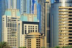 Skyscrapers of Dubai Marina Royalty Free Stock Photo