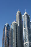 Skyscrapers Dubai Marina Royalty Free Stock Photography