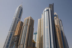 Skyscrapers of Dubai Stock Images