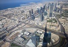 Skyscrapers in Dubai. UAE. Stock Photo