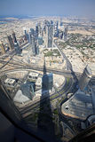 Skyscrapers in Dubai. UAE. Royalty Free Stock Photos