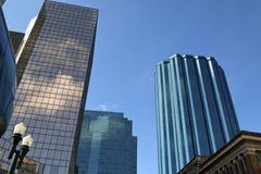 Skyscrapers, Edmonton, Canada Royalty Free Stock Images
