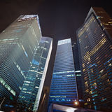 Skyscrapers of the financial center Royalty Free Stock Images