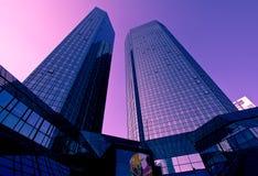 Skyscrapers in Frankfurt Stock Photography
