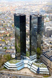 Skyscrapers in Frankfurt Stock Image